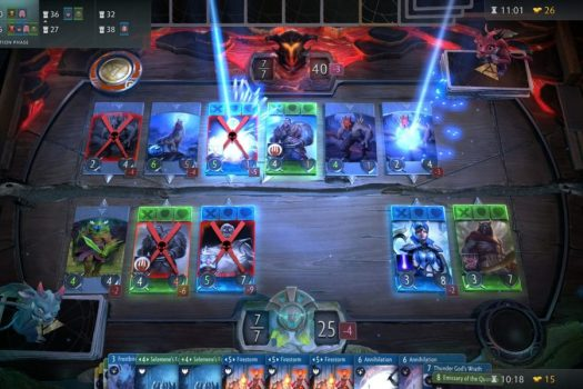 4. Artifact: The DOTA card game