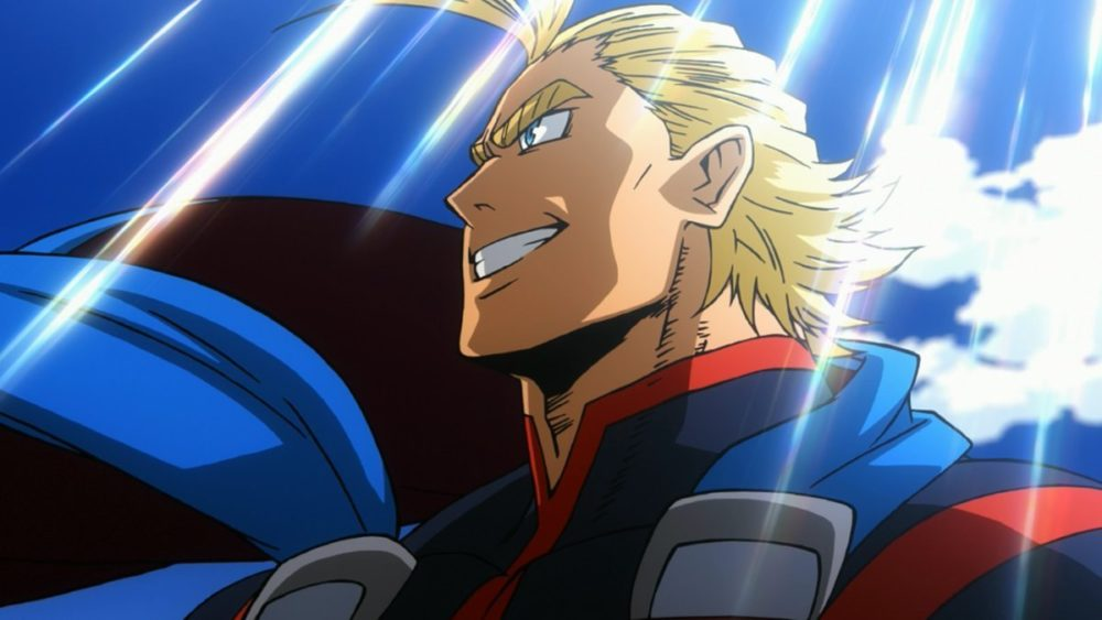 My Hero Academia All Might Anime