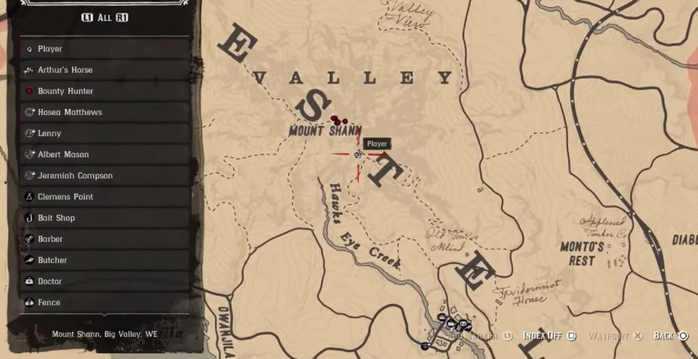 bigfoot, where bigfoot, bigfoot location, red dead redemption 2