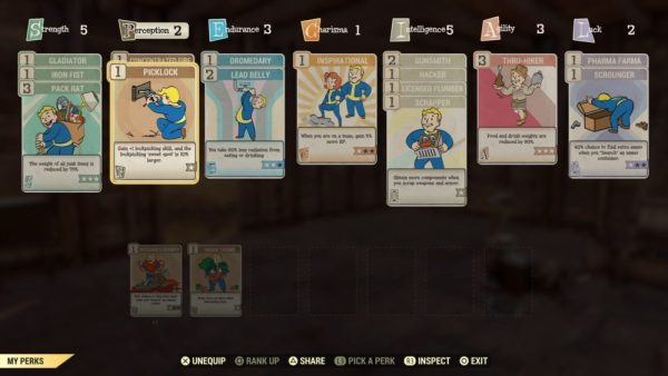 Fallout 76 picklock, increase lockpicking skill