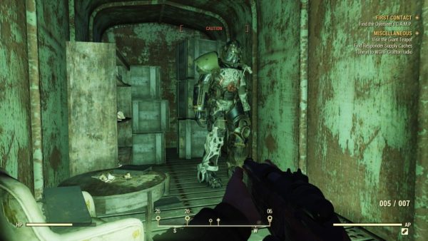 Fallout 76 power armor location