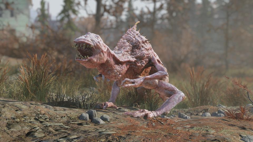 Snallygaster, Fallout 76, Bethesda