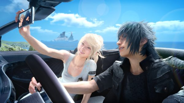 Luna and Noctis Final Fantasy XV