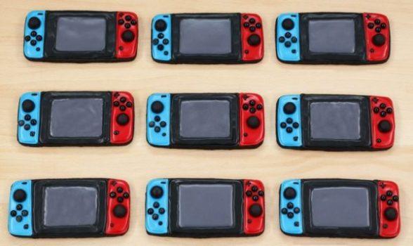 Nintendo Switch Cookies