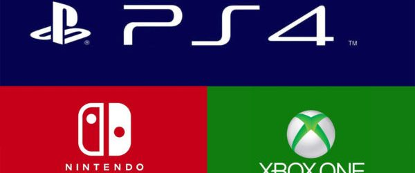 PS4 Xbox One Switch Logos