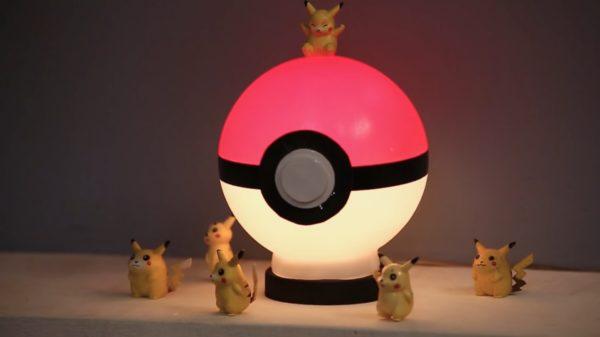 Poke Ball Table Lamp