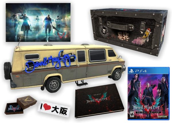 DMC 5, Collector's Edition, Devil May Cry 5