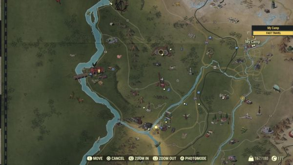Fallout 76 fast travel, how to fast travel in Fallout 76