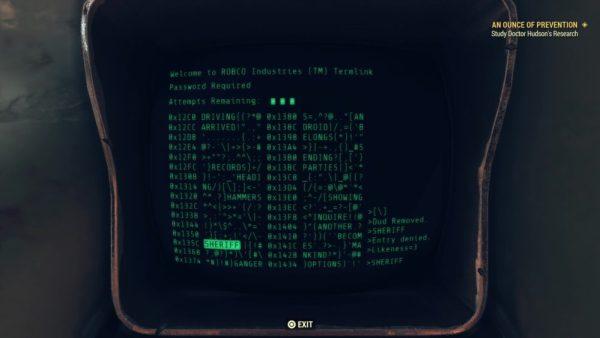 fallout 76 hacking, increase hacking skill