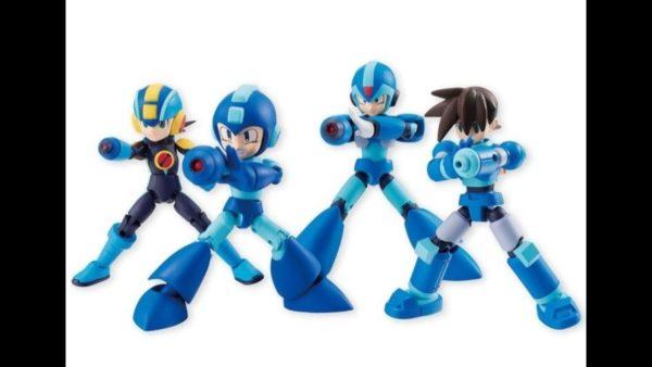 Mega Man Trading Figures