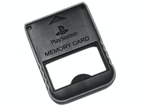 PlayStation Memory Card Bottle Opener