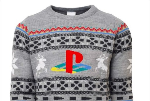 Official PlayStation Ugly Sweater