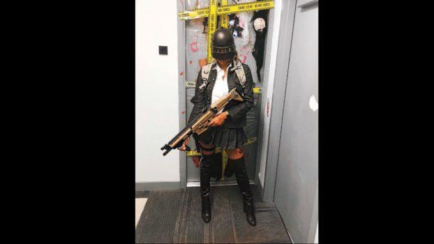 Female PUBG Soldier