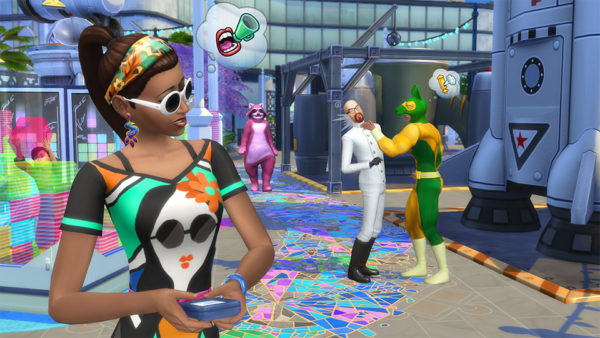 sims 4, get famous