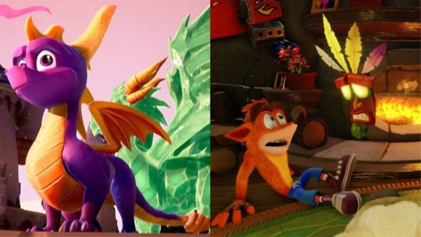 Crash Bandicoot and Spyro Remastered Trilogies