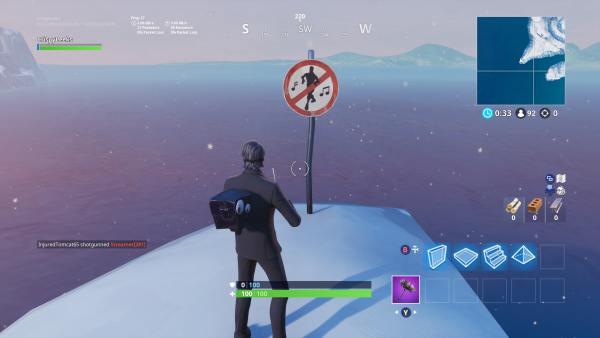 Fortnite Season 7 Forbidden Dance Locations