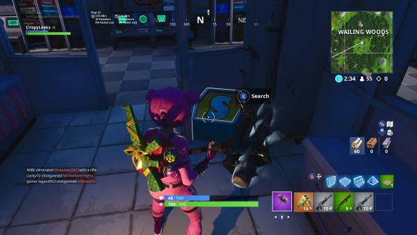 Fortnite: 'O' 'S' 'M' & 'N' Letter Locations & Where The