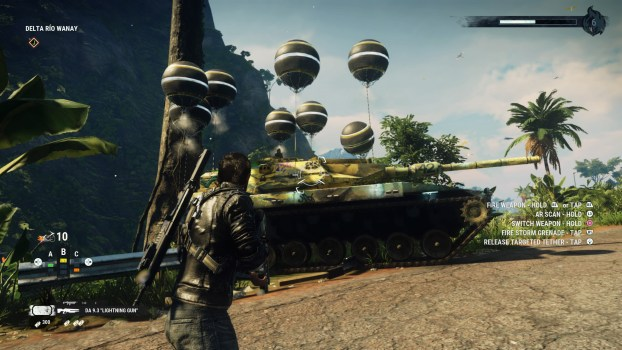 Fly a Tank