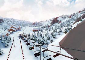 snowtopia, game