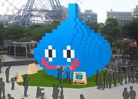 Dragon Quest, Dragon Quest Builders 2, Slime Statue