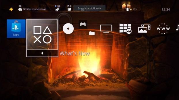 Amazing Fireplace HiQ Dynamic Theme