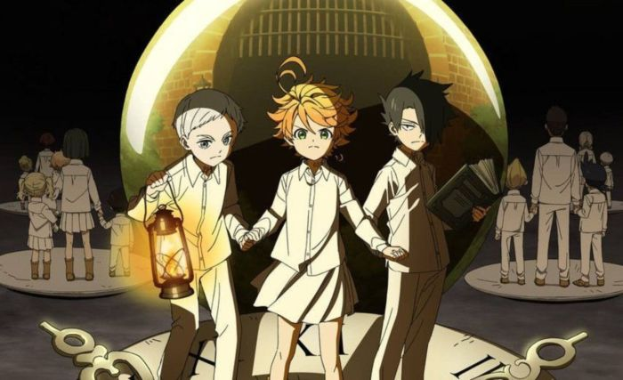 The Promised Neverland, Anime, 2019, Crunchyroll
