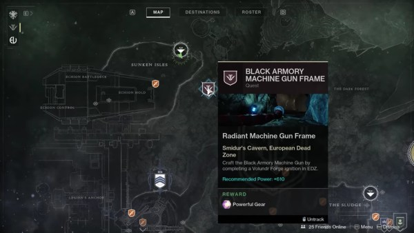 destiny 2, volundr forge location