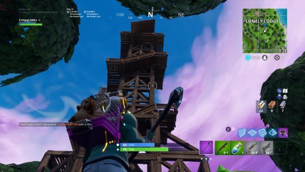 Fortnite Ranger Tower Location