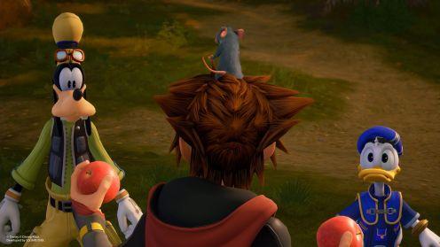 Kingdom Hearts 3, PS4 Pro
