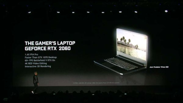 Nvida Compares RTX-Powered Laptops to PS4 Pro and Next-Gen