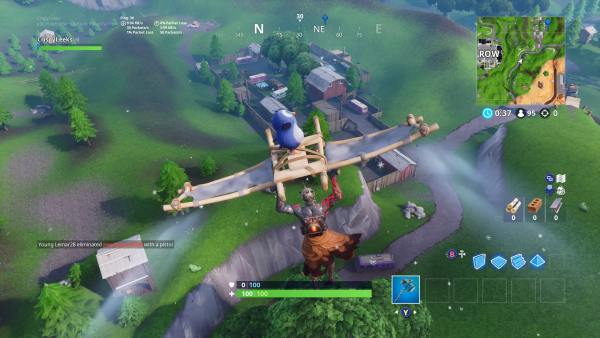 Where the RV Park location is in Fortnite