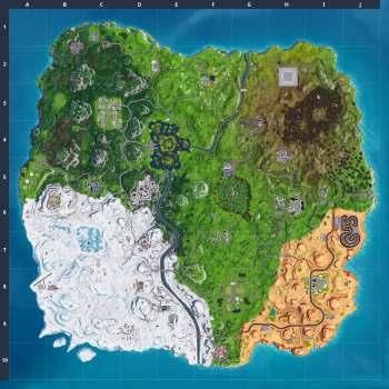 Fortnite burnt map