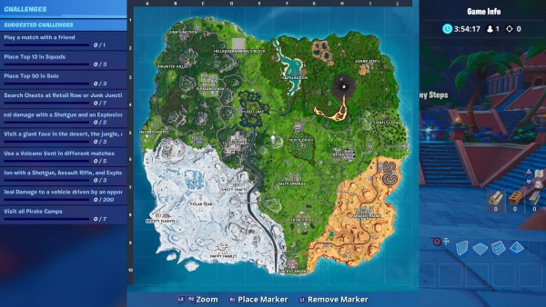 Fortnite season 8, map