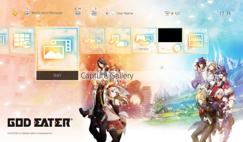 GodEater3_PS4AddOn_SeriesTheme_screenshot1
