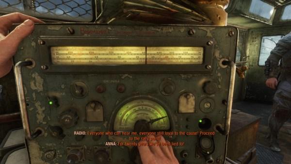 where to tune the radio to in Metro Exodus
