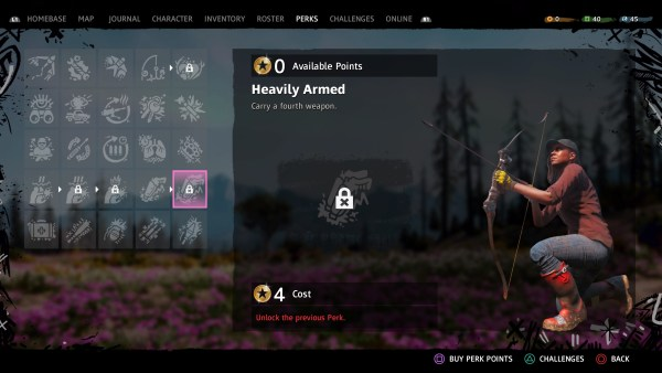how to get more weapon slots in far cry new dawn