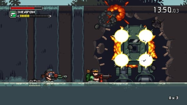Mercenary Kings, best switch couch co-op games to play