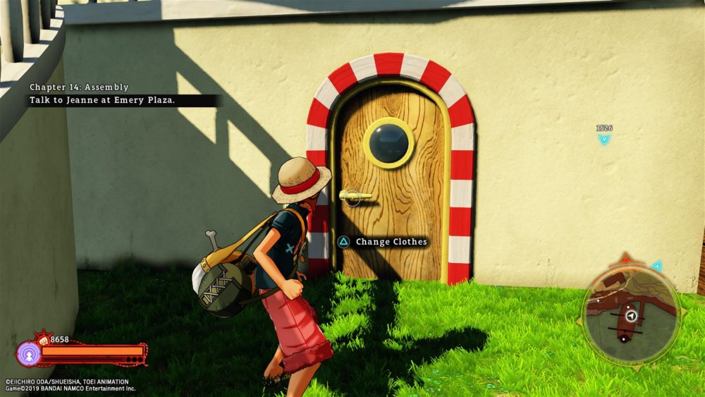 how to get clothes and change outfits in one piece world seeker
