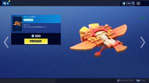 Sunrise Glider Fortnite Item Shop