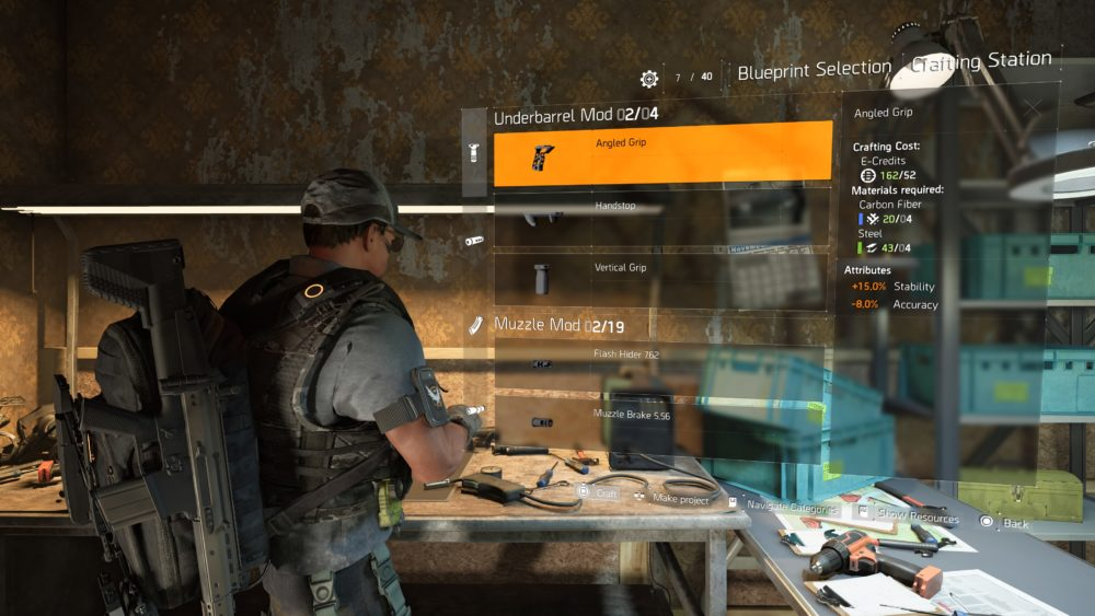 Division 2 Weapon Mods: How to Get, Equip, Remove, What They