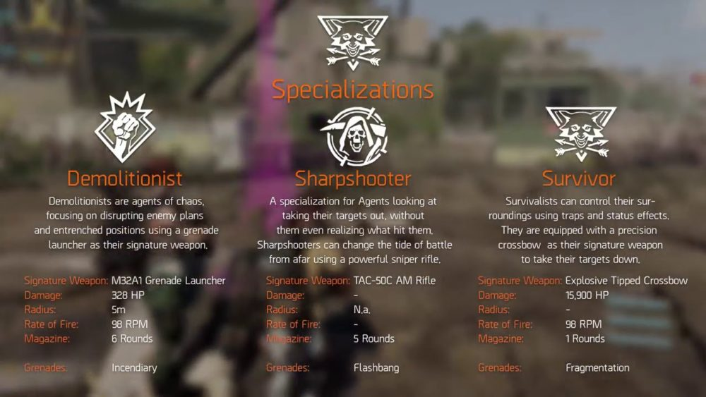 specializations