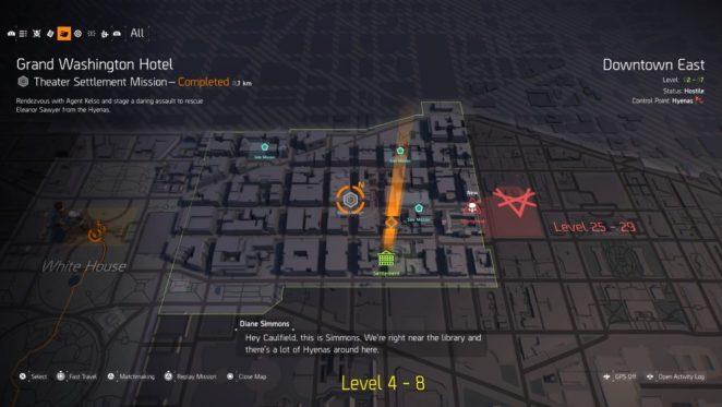 the division 2, replay missions
