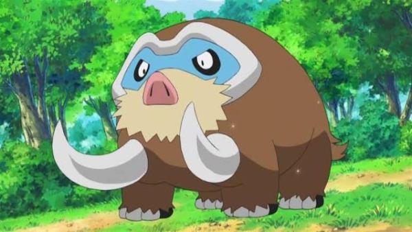 mamoswine, pokemon go, moveset