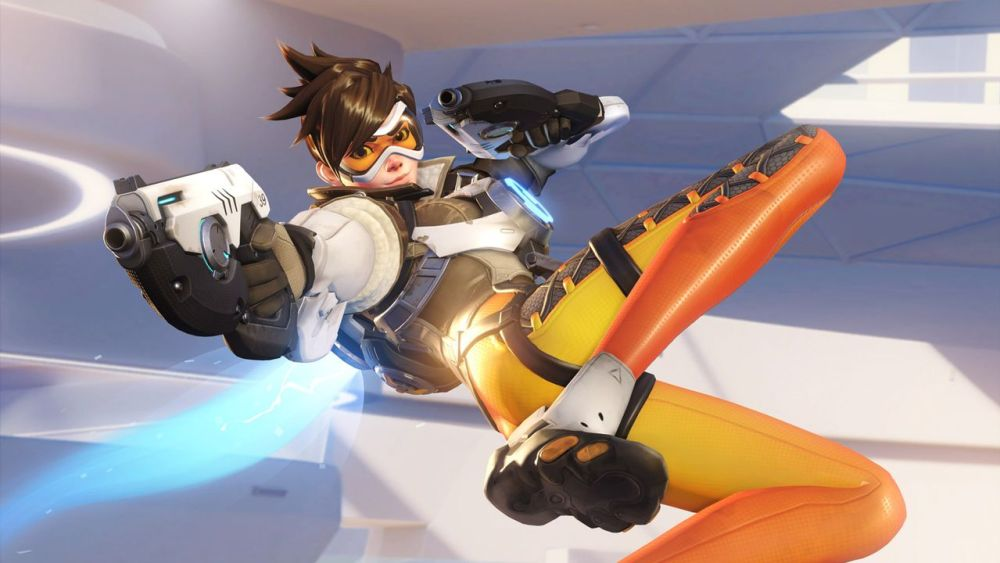 Overwatch Tracer LGBT video game characters