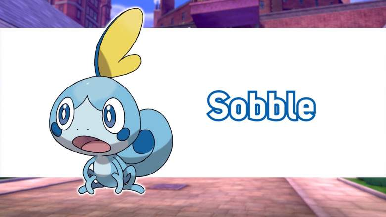Sobble Pokemon