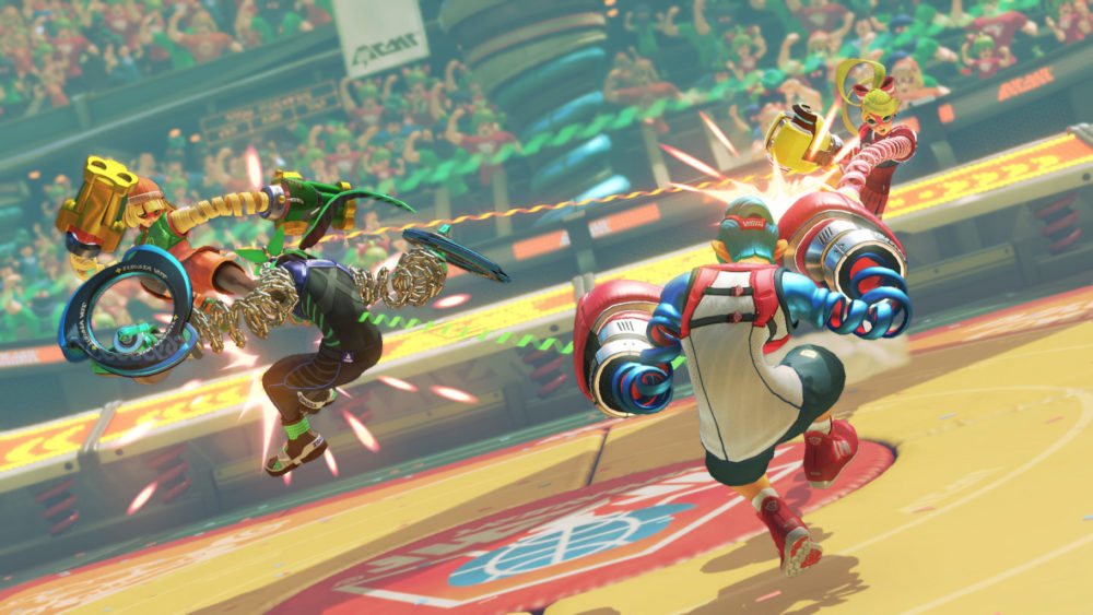 arms, switch, nintendo, fighter