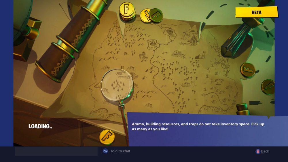 Fortnite Treasure Map Loading Screen