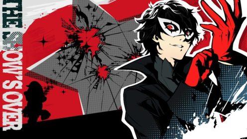 persona 5, joker, super smash bros. ultimate