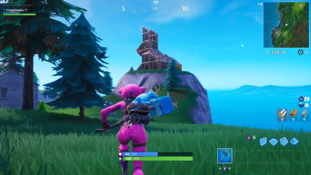 Fortnite Where To Visit Wooden Rabbit Stone Pig Metal Llama
