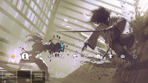Cyborg vs Samurai Dynamic Theme